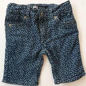 Toddler Levi's Polka Dot Bermuda Shorts